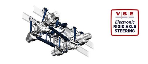 Elektronisches Lenksystem Starrachse für LKW