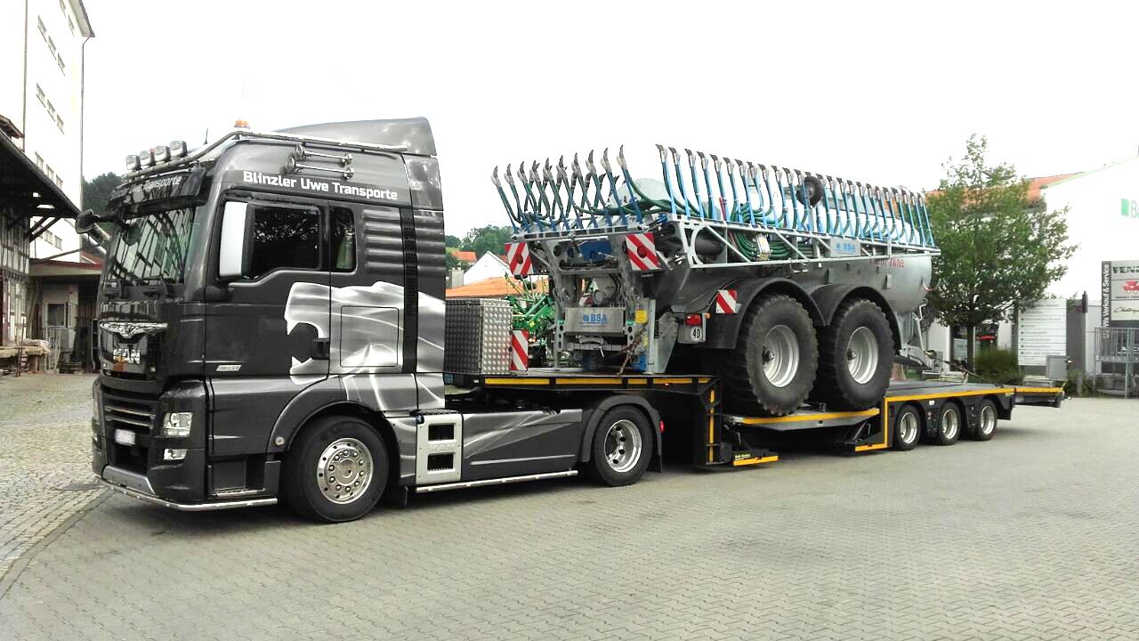 Blinzler Transporte: 30% produktiver dank VSE Steering