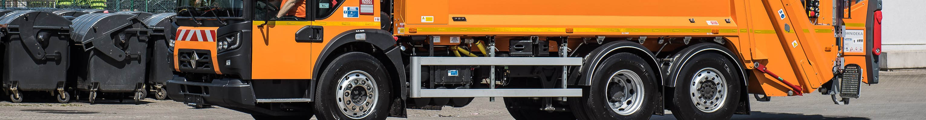 Steering and suspension systems for trucks